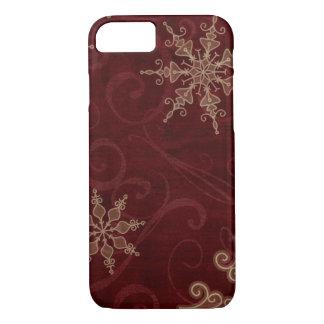 Snowflake Swirls iPhone 7 Case