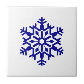 Snowflake Small Square Tile