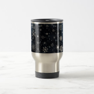 Snowflake Travel Mug