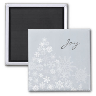 Snowflake Tree Magnet