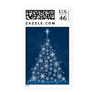 Snowflake Tree Postage