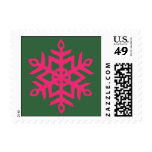 Snowflake Trio Postage Stamps