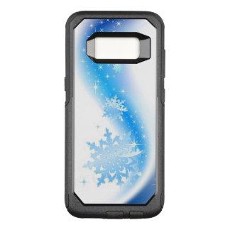 Snowflake Wave OtterBox Commuter Samsung Galaxy S8 Case