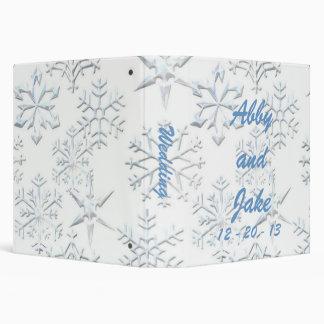 Snowflake Wedding Binder