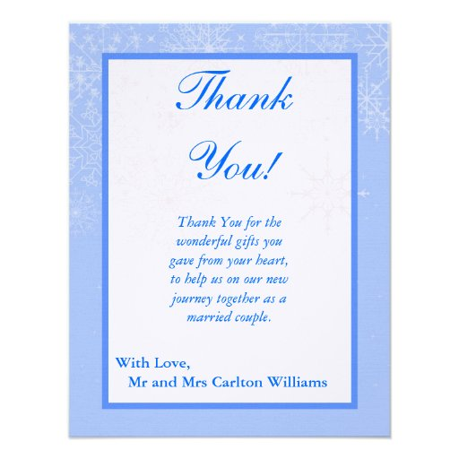these gorgeous 4x5 flat thank you card is perfect for thanking your