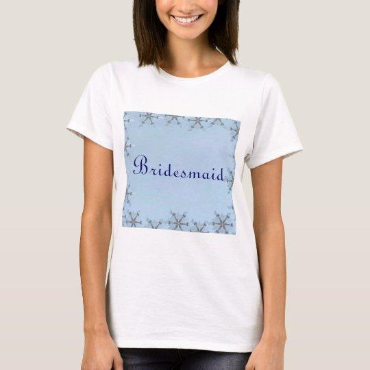 Snowflake Wedding T-Shirt
