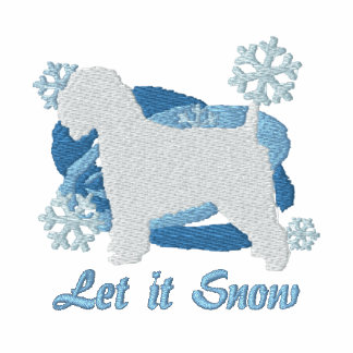 Snowflake Wheaten Terrier Embroidered Sweatshirt