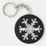 Snowflake Winter Snow Star Peace Love Destiny Key Chains