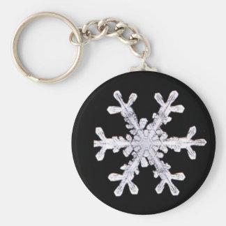 Snowflake Winter Snow Star Peace Love Destiny Keychain