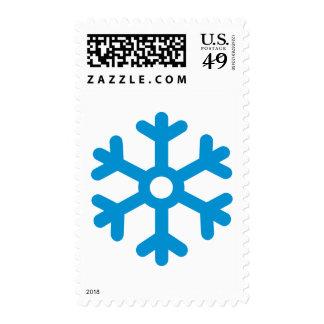 Snowflake winter stamp