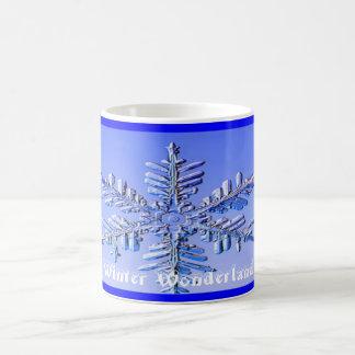 Snowflake, Winter Wonderland Coffee Mug