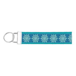 Snowflake Wrist Key Chain