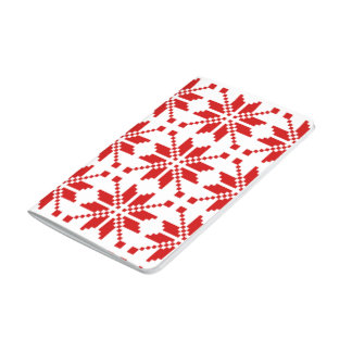 Snowflake Xmas Pattern Journal