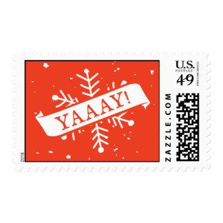 Snowflake YAY! Stamp
