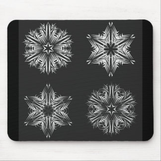 Snowflakes1 Tapete De Ratón