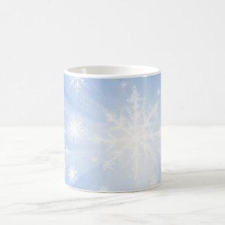 Snowflakes 01 coffee mug