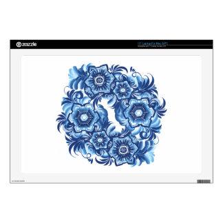 "Snowflakes 17"" Laptop Decal"