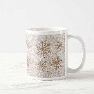 Snowflakes 1 - Sepia Coffee Mug