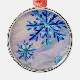 Snowflakes ACEO Ornament