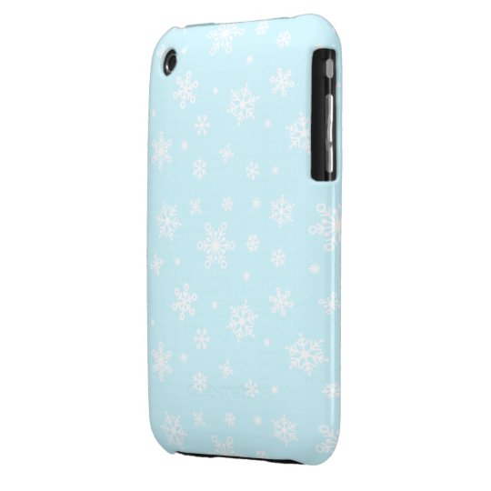 Snowflakes All Around Case-Mate iPhone 3 Case
