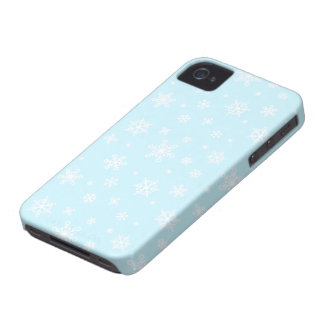 Snowflakes All Around iPhone 4 Cover