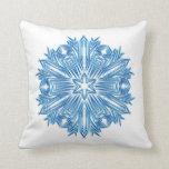 Snowflakes Art 11 Pillows Color Options