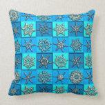Snowflakes Art 15 Pillows