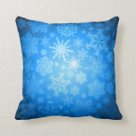 Snowflakes Art 5-10 Pillows Color Options