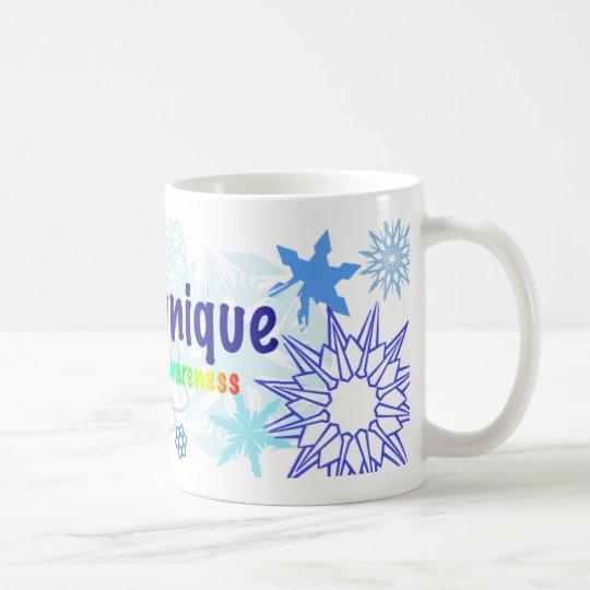 snowflakes_autism coffee mug