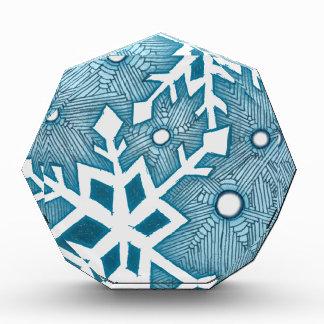 Snowflakes Acrylic Award