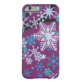 Snowflakes Barely There iPhone 6 Case