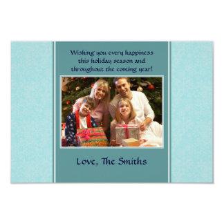 Snowflakes - Blue 3.5x5 Paper Invitation Card