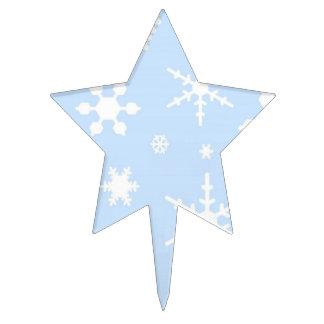 Snowflakes Cake Topper