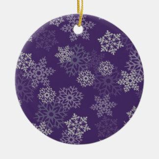 Snowflakes Christmas Ornament
