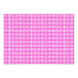 "Snowflakes Christmas Party Invitation (pink) 5"" X 7"" Invitation Card"