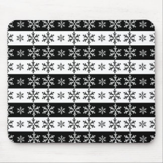 Snowflakes - Christmas pattern Mouse Pad