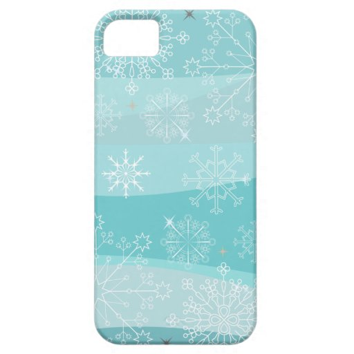 Snowflakes Christmas Phone Case iPhone 5 Cover