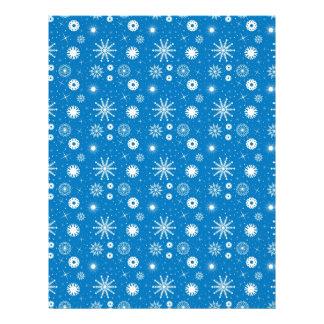 Snowflakes - Christmas scrapbook paper