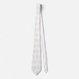 Snowflakes Christmas Tie