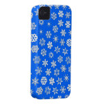 Snowflakes Collage Case-Mate iPhone 4 Case