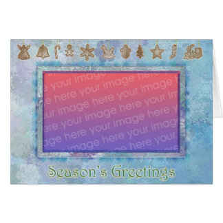 Snowflakes & Cookies Card