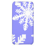 snowflakes cover for iPhone 5C