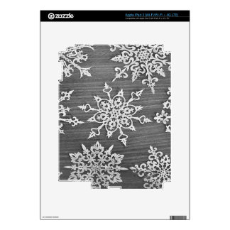 Snowflakes Decals For iPad 3