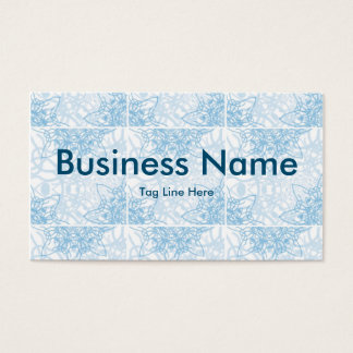 Snowflakes Fall Business Card