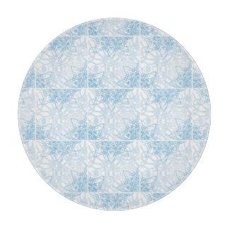 Snowflake Glass Cutting Board Snowflakes Fall Cutting Board