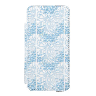 Snowflakes Fall iPhone SE/5/5s Wallet Case