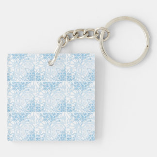 Snowflakes Fall Keychain