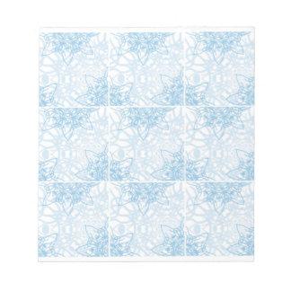 Snowflakes Fall Memo Note Pad