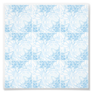 Snowflakes Fall Photo Print