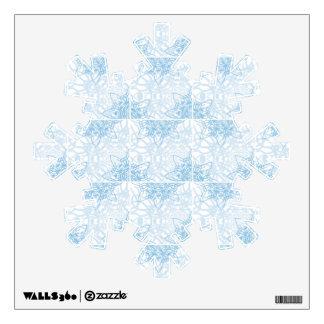 Snowflakes Fall Wall Skins